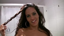 Blowjob in a break in the bathroom showstars hana