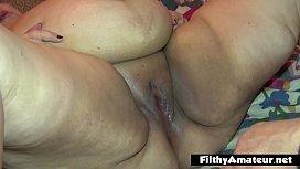 Cum in the mouth of a hippopotamus in an BBW orgy