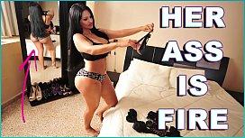 BANGBROS - Colombian MILF Pornstar Cielo Gets Her Latin Big Ass Fucked showstars hana