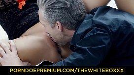 THE WHITE BOXXX -  Czech babe Victoria Pure masturbates and dominates lover