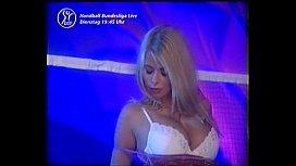 Katerina Hovorkova blonde strip