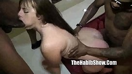 gangbang white pussy bbc slam that pussy by hooded fuck