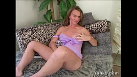 Chesty Skye Toys Her Pussy