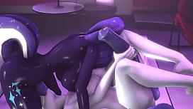 Japanese erotic lesbian breast and vagina massage