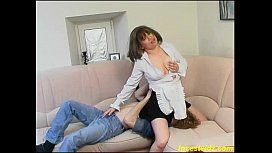 RussianTaboo family mother with son 2