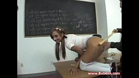 Horny Schoolgirl Fucks Teacher - Tees sex