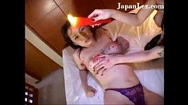 Japanese Asian Lesbian Hotwax Hairy Armpit Bound