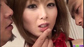 Gorgeous Asian Group Porn With Skinny Rika Sakurai - More At 69avscom