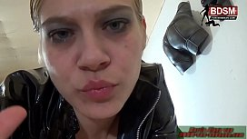 BDSM POV Dirty talk mit Deutscher Lady - german femdom fetish