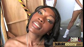 Ebony gets fucked in all holes by a group of white dudes 28 xxx video