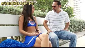Cheerleader Gets Pregnant From Stranger xnxx image