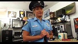 POV Police officer blowjob