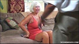Granny Blowjob fuck exchange