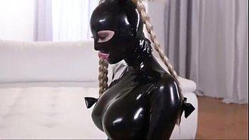 Latex Slave Lesbian Punishment P2 Myfuckingwebcamcom thumbnail