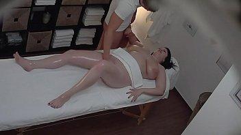 Hot Massage Turns To Fingering Spycam thumbnail