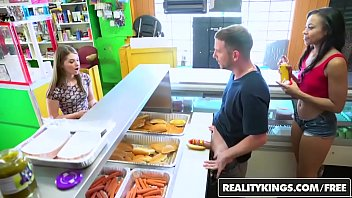 Realitykings Money Talks Adrian Maya And Alice March Hot Dog Stand