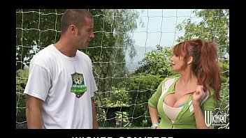 Big Tit British Redhead Soccer Mom Lia Lor Fucks Her Sons Coach