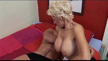 Wild Hot Body German Mom Fucking Young Man thumbnail