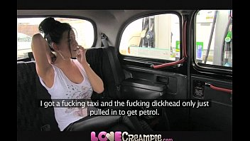 Love Creampie British Slut Gives Fake Taxi Driver Deep Blowjob Before Anal thumbnail