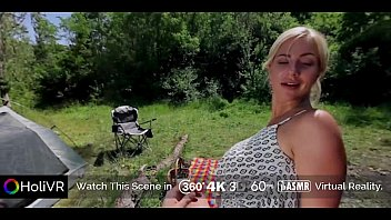 Flash your teen boobs Holivr busty hot blode fucked and jizzed outdoor 360 vr porn
