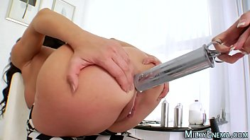 Milk squirting ho rimmed