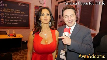 Ava Addams plays with her boobs for Andrea Diprè