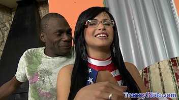 Bigass shemale interracial fucked