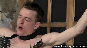 Gay porn movies hot kiss xxx With his gentle ball-sac tugged and his