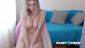 Flirt4Free - Alexia Sun - Hard Bodied Blonde Babe with Big Natural Tits
