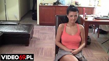 Polskie porno - Dała z siebie wszystko na castingu
