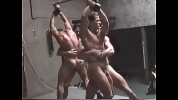 Gay wrestling sex sexual submission submissive Bodybuilder, bondage and wrestling