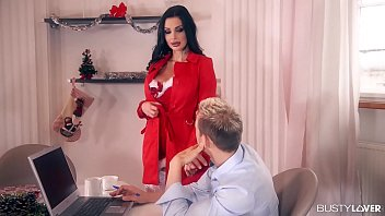 Adult migrant english - Busty bomshell aletta ocean gets her pussy and asshole fucked by two studs