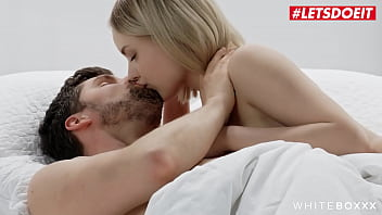 #LETSDOEIT - Emily Cutie & Kristof Cale - SEXY ASS BLONDIE HAS A ROUGH MORNING WITH HER LOVER