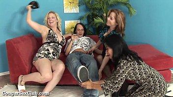 Horny MILFs In A Wild Foursome!