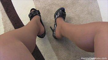 Milf dangle dip shoe - Natalie high heels dipping shoeplay small
