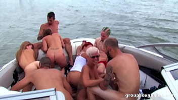 Summer Group Fuck On A Boat
