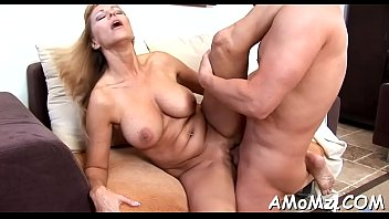 Free mature cougar movies Big cock for appealing aged