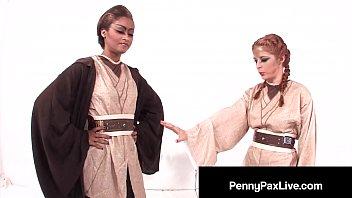 Cozplay Cuties Penny Pax & Skin Diamond Cum from The Starz!