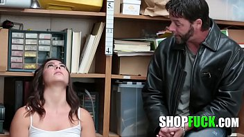 Officer Fucks A Thief Girl In Front Of Her Father - SHOPFUCK