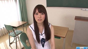 Adorable school hardcore with young Moe Sakura - More at Javhd.net