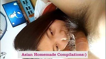 Asian college teen blowjob รวมคลิปสาวสิบแปดน่ารัก