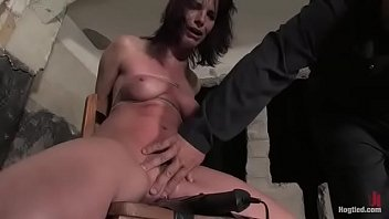 Dana tied, suspended, breath play, severe bondage, hard orgasms and crotch rope with heavy weights
