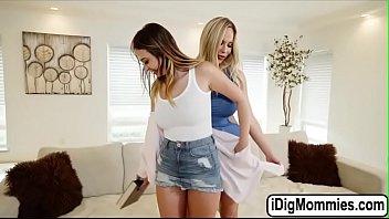Olivia teaches Quinn how to suck dick