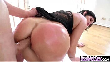 Anal Hardcore Sex Act With Big Wet Oiled Butt Naughty Girl (shay fox) video-27