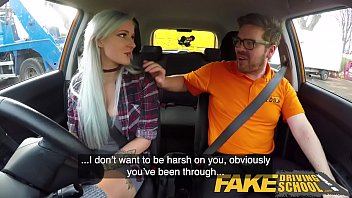 Increase sex drive medication - Fake driving school busty goth learner in anal and sex toys lesson finale