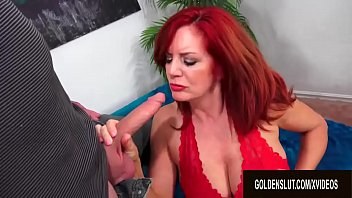 How to have sex with a female sheep - Beautiful older redhead andi james gorges herself on man meat