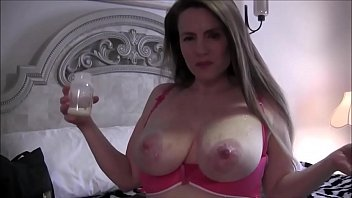 Big tits pregnant preggo milf lactating boobs milking tits