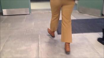 Hot Teacher in Tight Pants