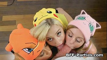 Free pokemon porn galliers Pokehoes caught and fucked on video