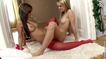 Sapphic pantyhose Festive frolickers by sapphic erotica - beatrice and angelica lesbian fun